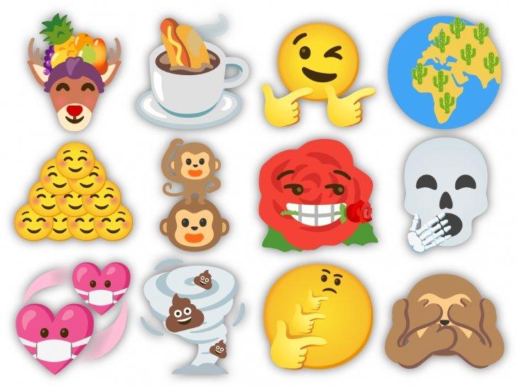 Gboard emojis mistura