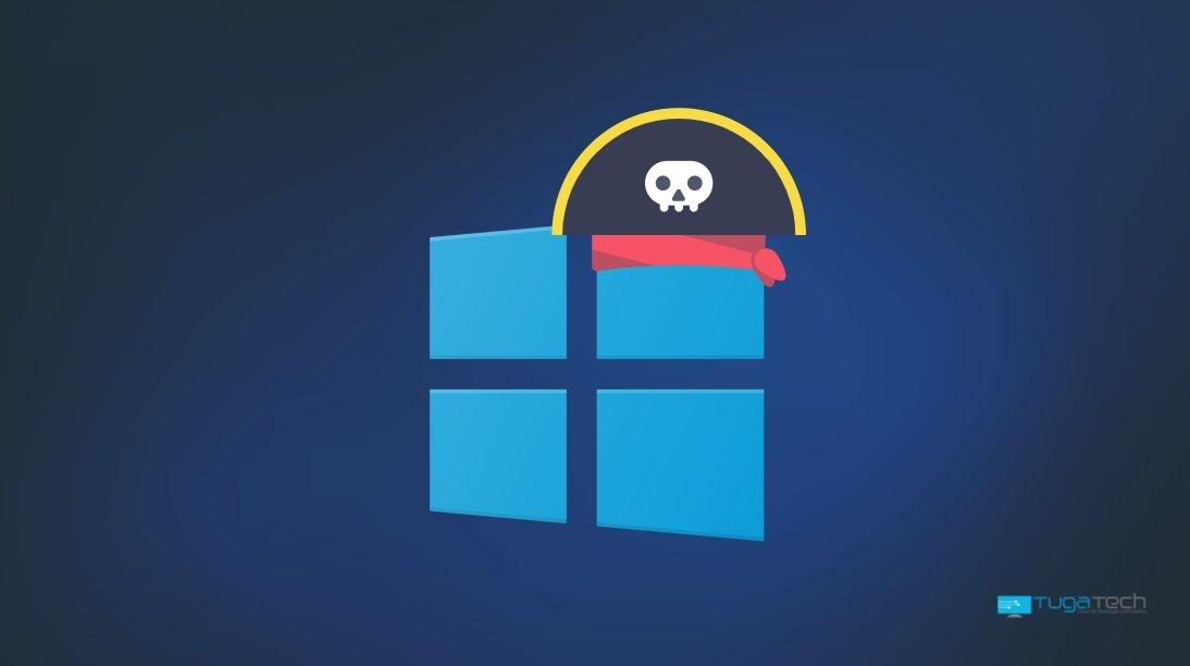 Windows 11 pirataria