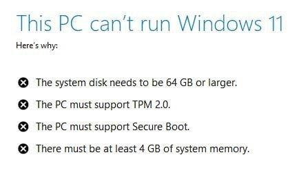 requisitos para usar o windows 11
