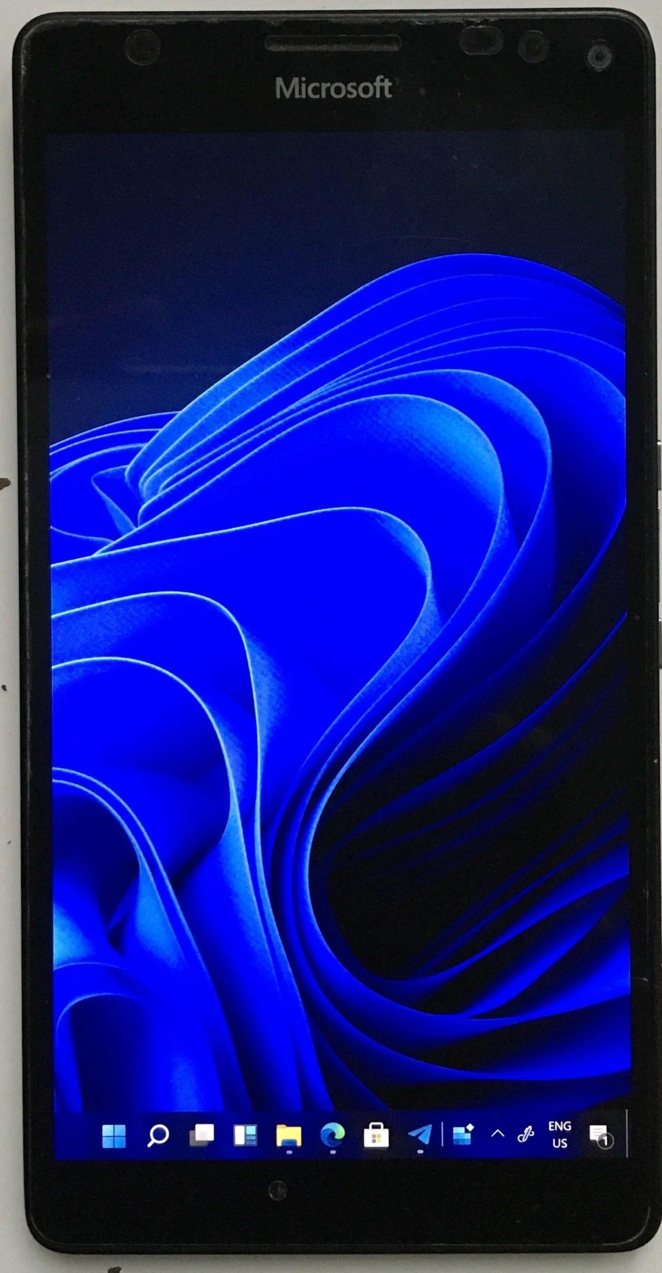 Lumia 950XL com o Windows 11