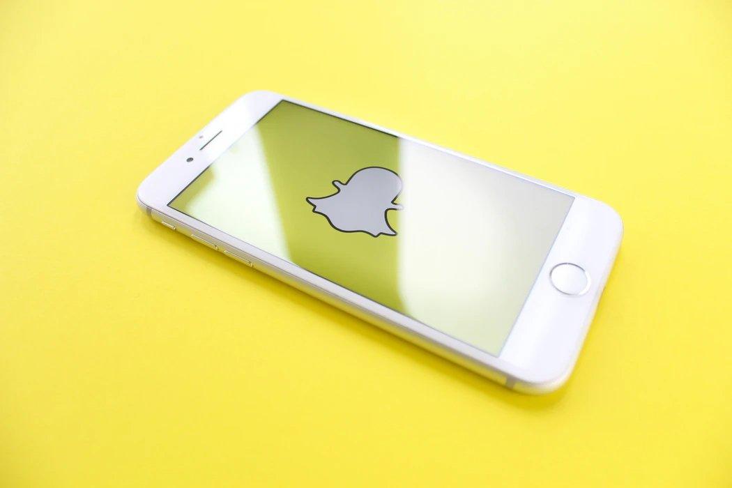 snapchat a funcionar em smartphone