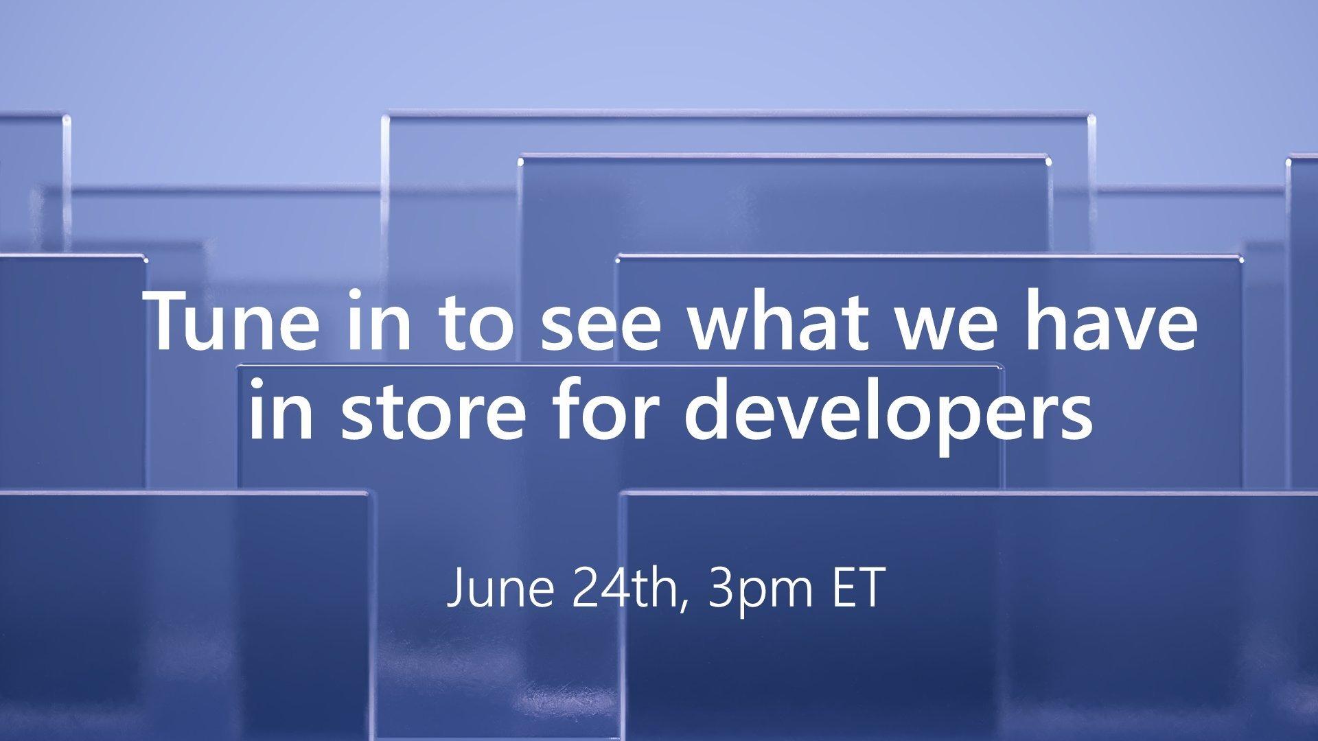 Microsoft convite para evento de programadores