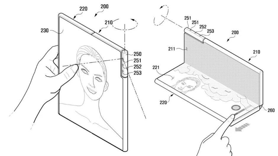 patente da câmara da samsung