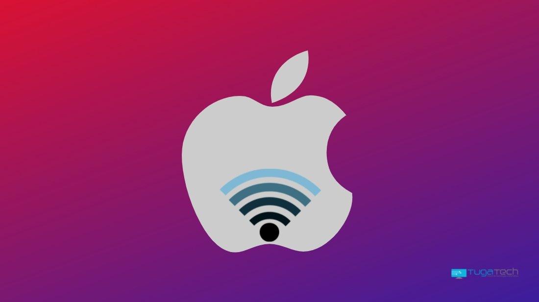 Apple iPhone rede wi-fi danificada