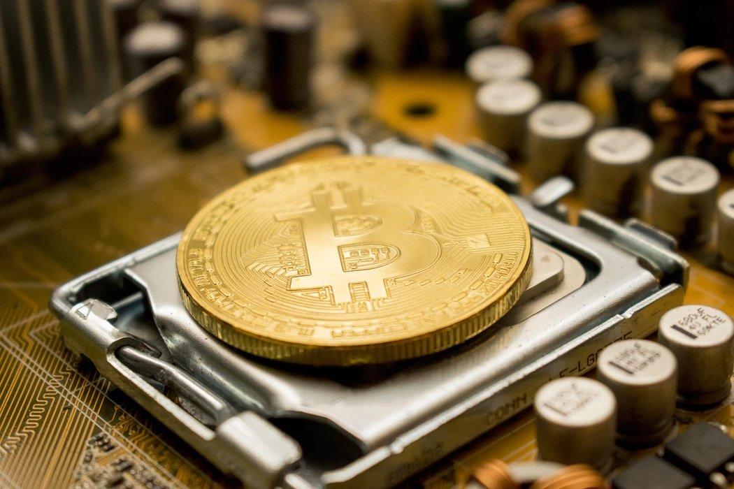 Bitcoin sobre um processador