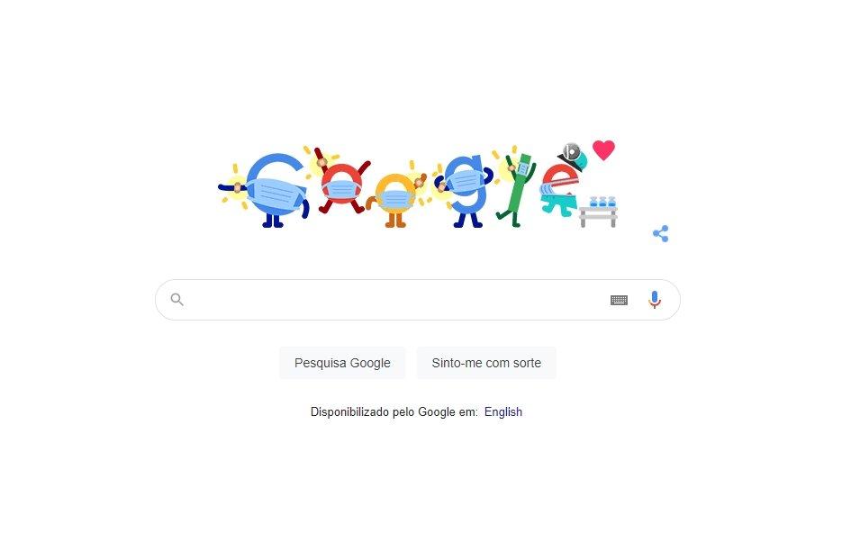 Google doodle vacinação