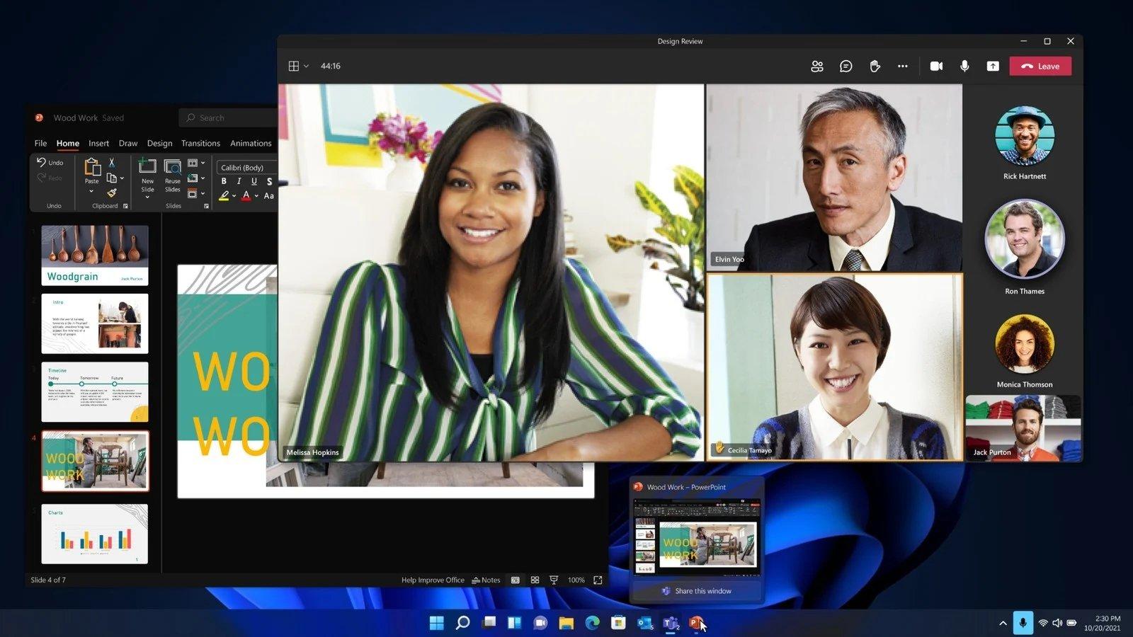 Windows 11 produtividade
