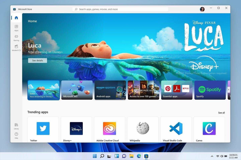 Microsoft Store no Windows 11