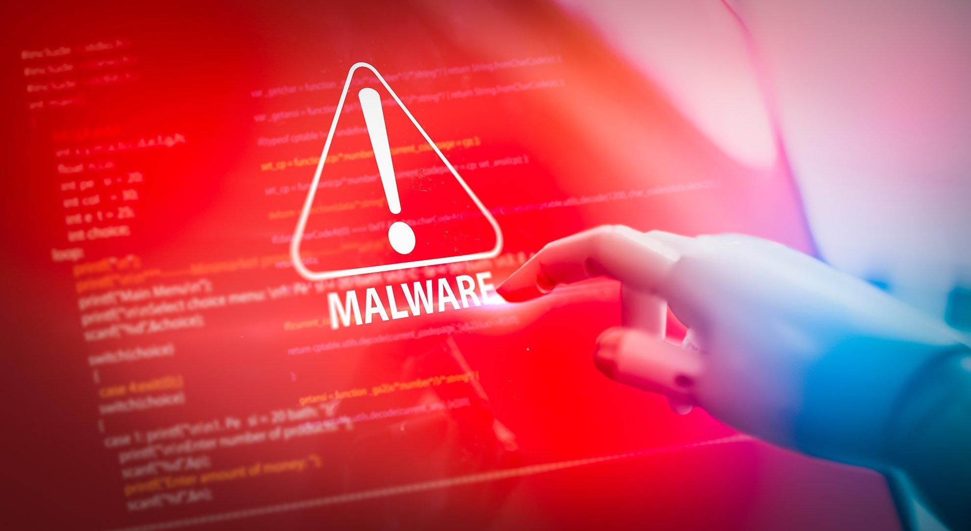 malware em sistema