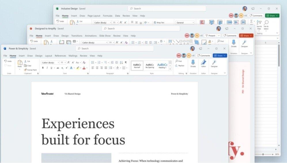 Office nova interface