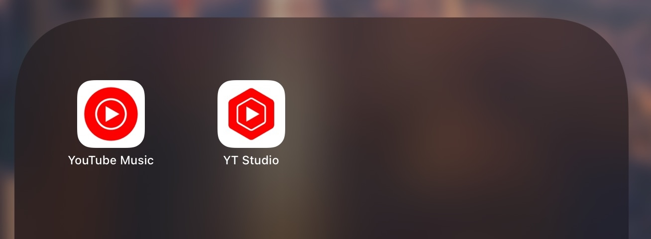 comparação das duas apps com icones