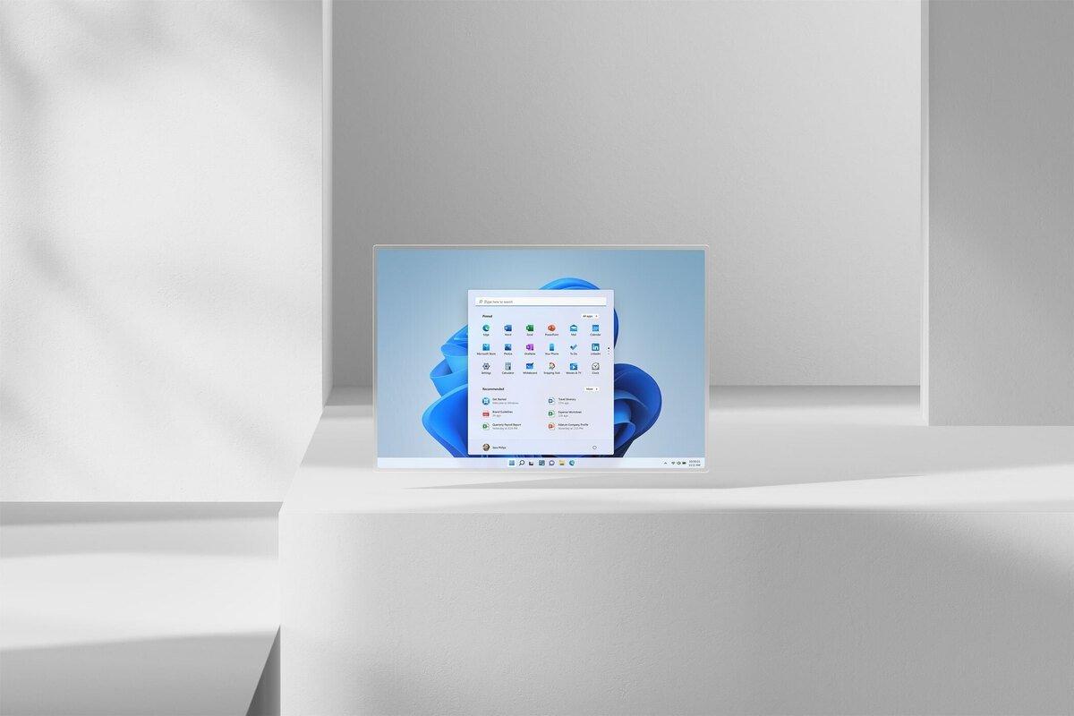 Windows 11 interface