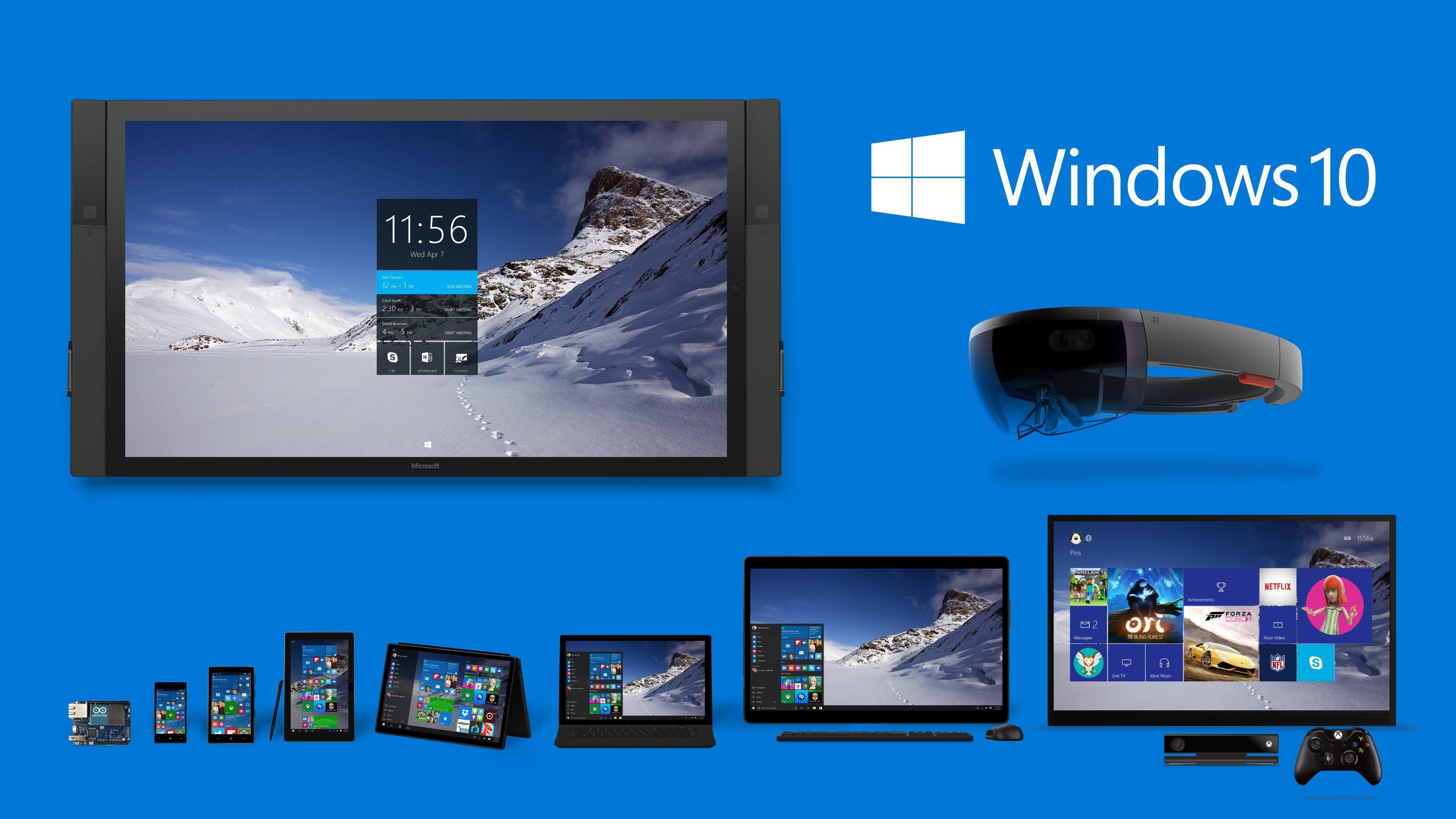 aplicações UWP do Windows 10