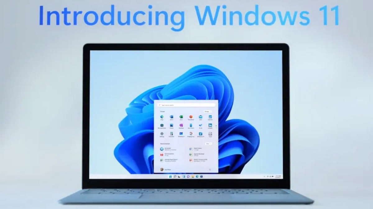 Windows 11 logo inicial
