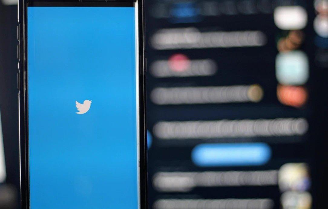 Twitter app em aberto