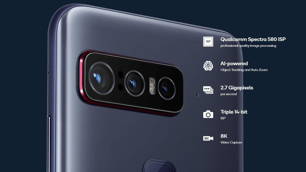 câmaras no smartphone