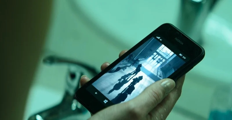 Nokia no filme da viúva negra