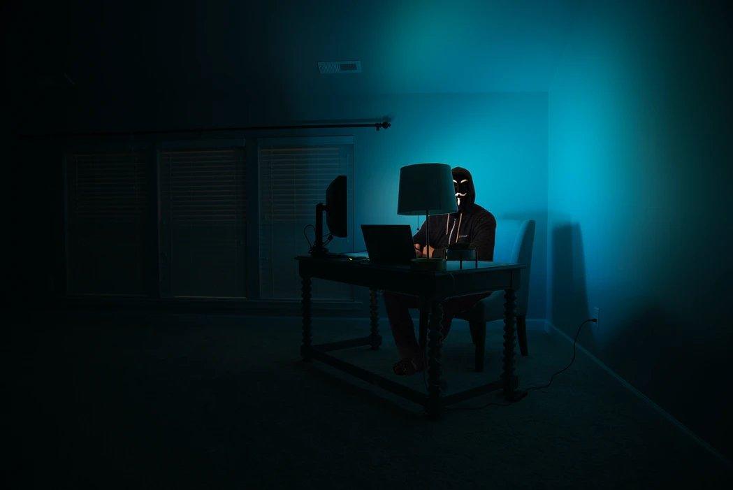 Hacker em computador