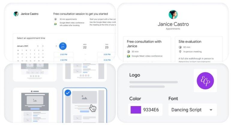 templates de emails do individual google workspace