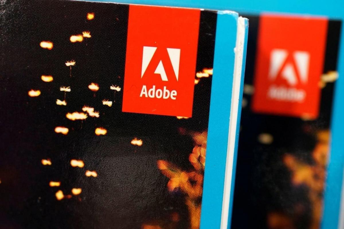 Adobe caixa de software
