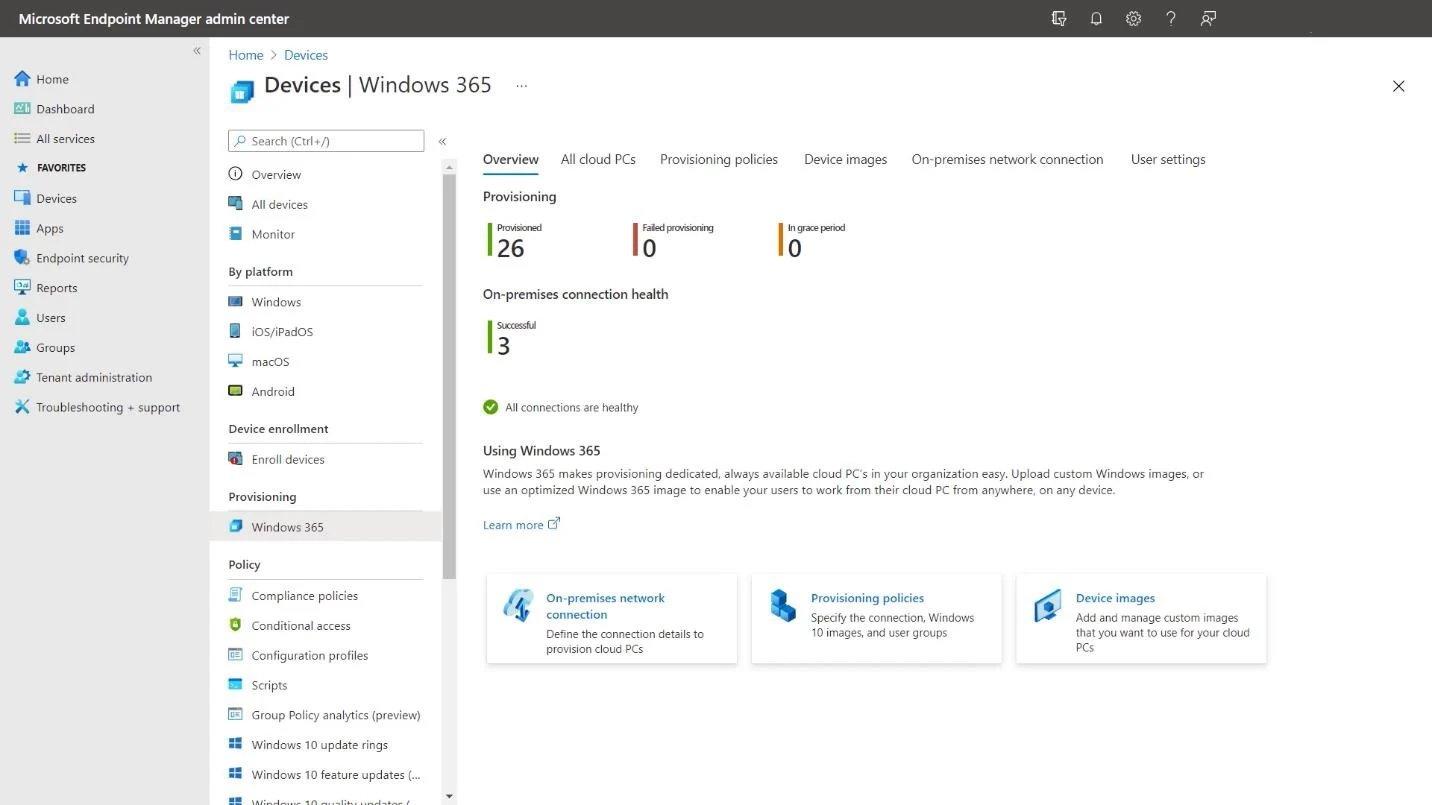 Microsoft cloud pc Windows 365