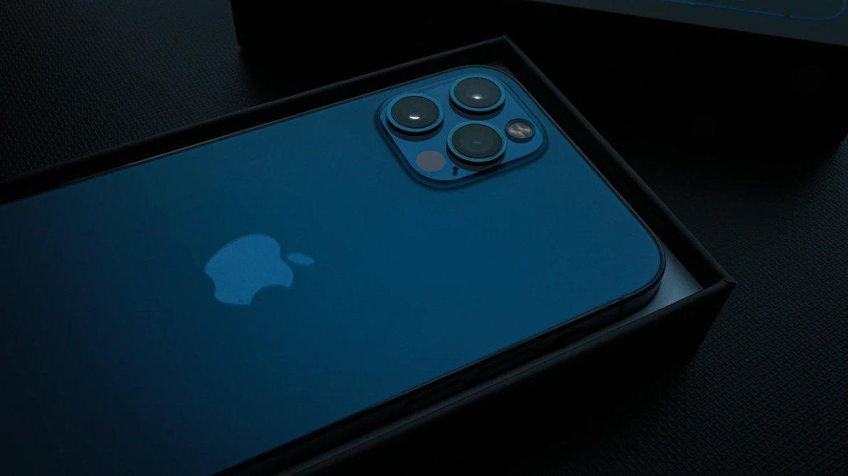 Apple iphone na caixa