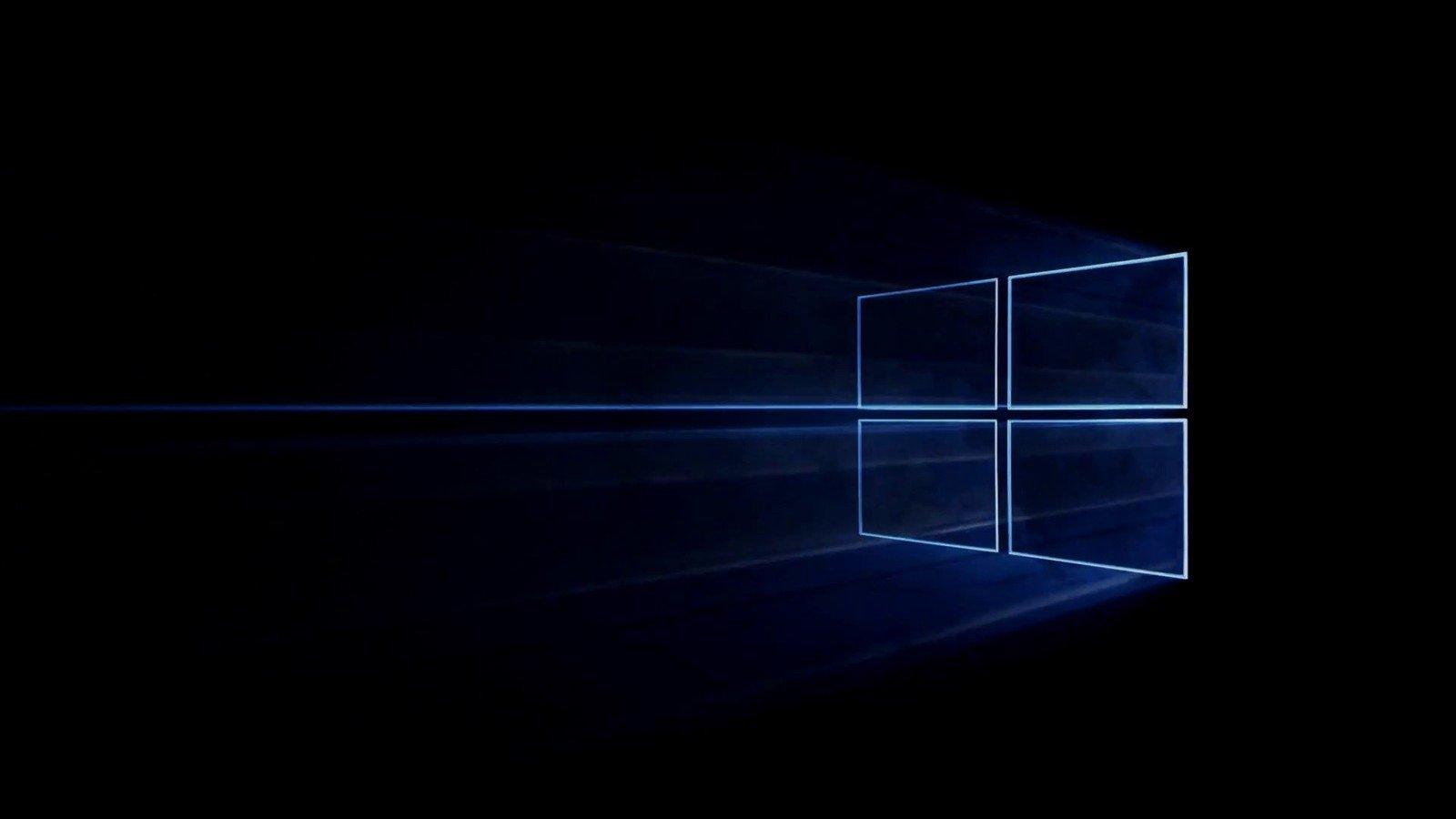 Windows dark mode
