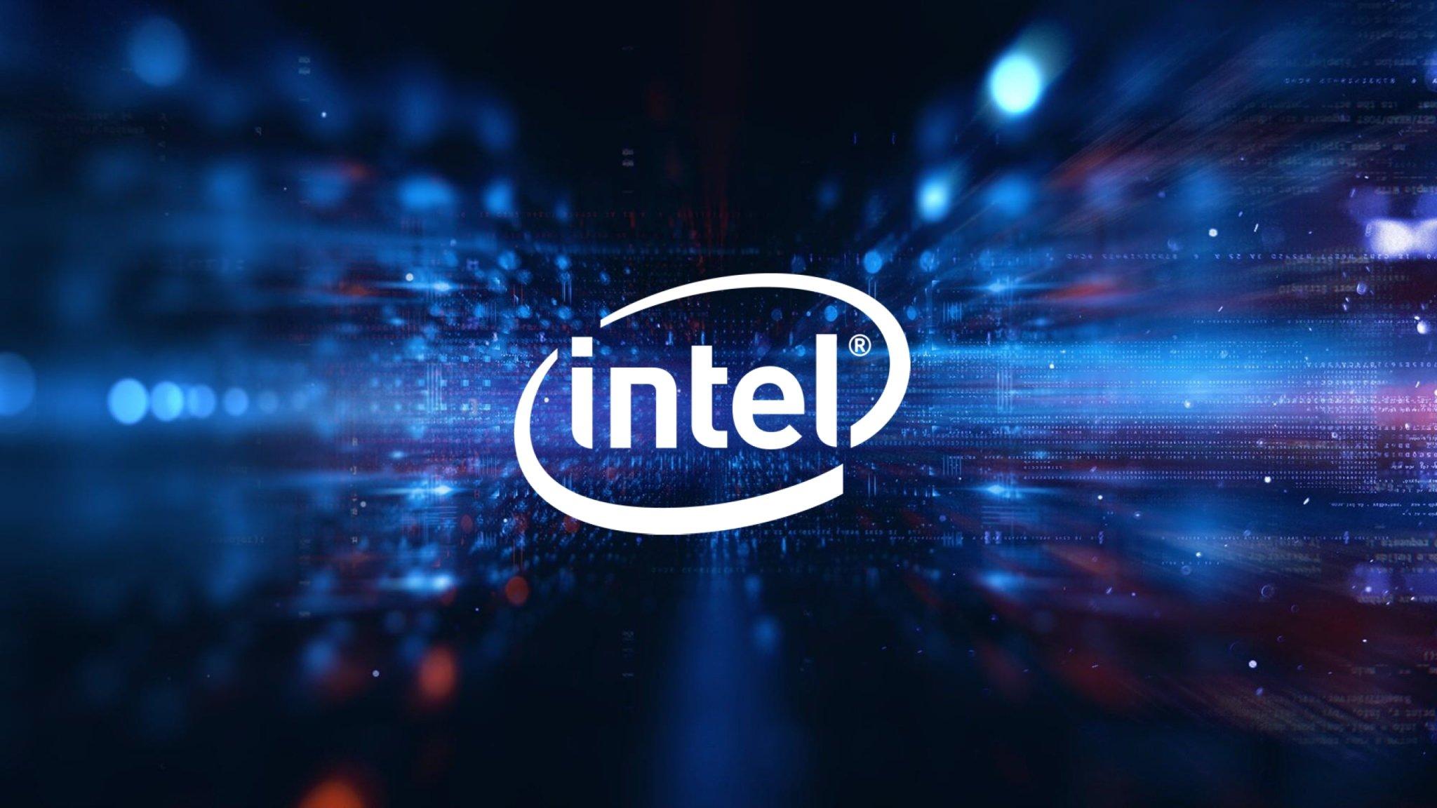 Intel logo da marca
