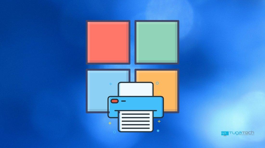Windows falha no sistema sobre impressão