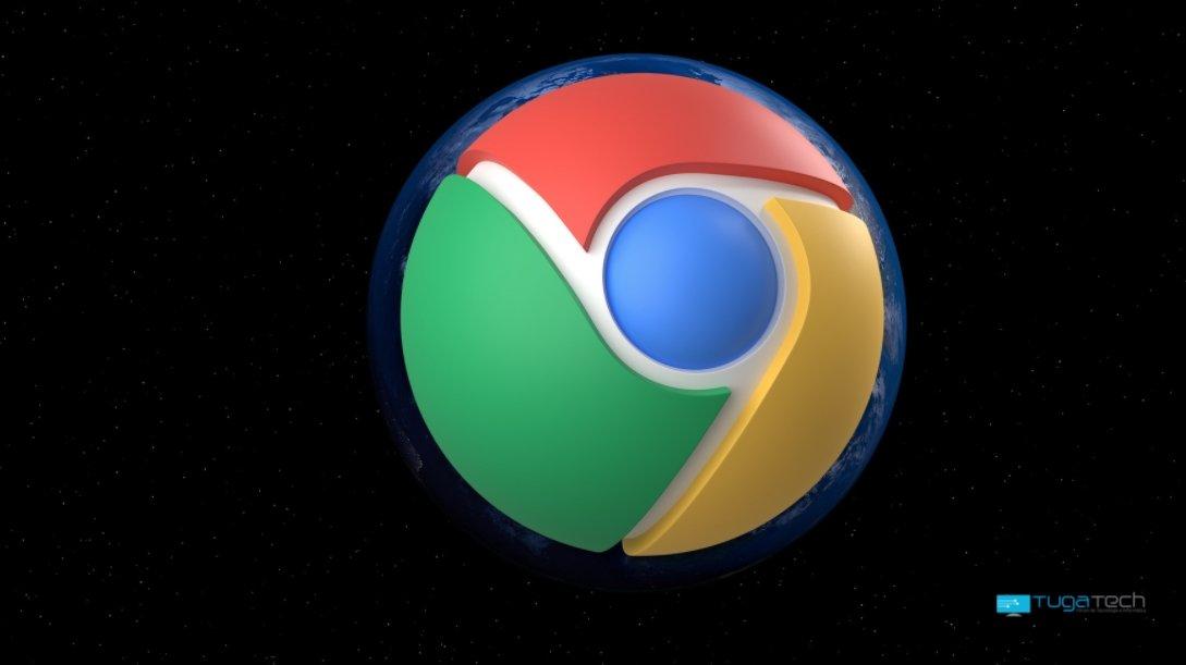 Google Chrome sobre o mundo