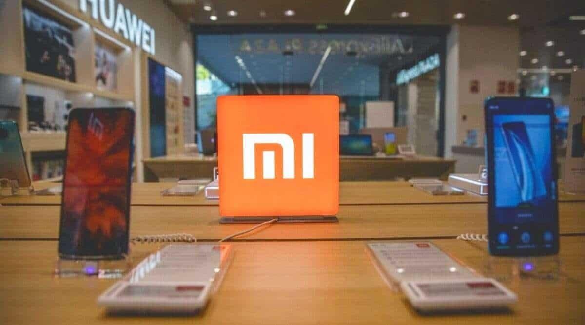 Xiaomi smartphones na mesa