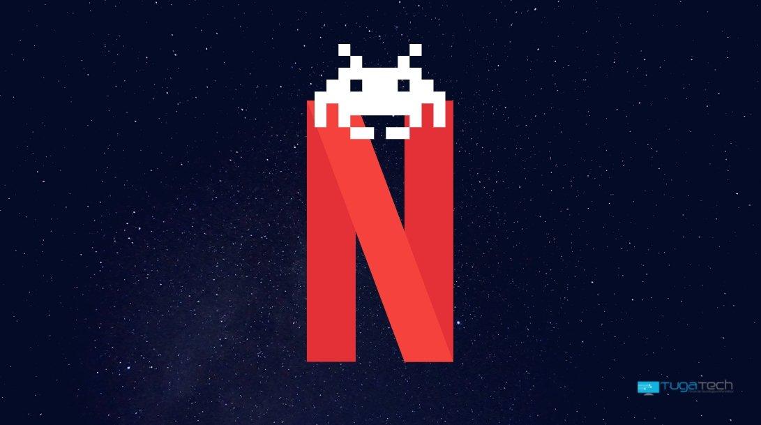 Netflix com gaming no topo