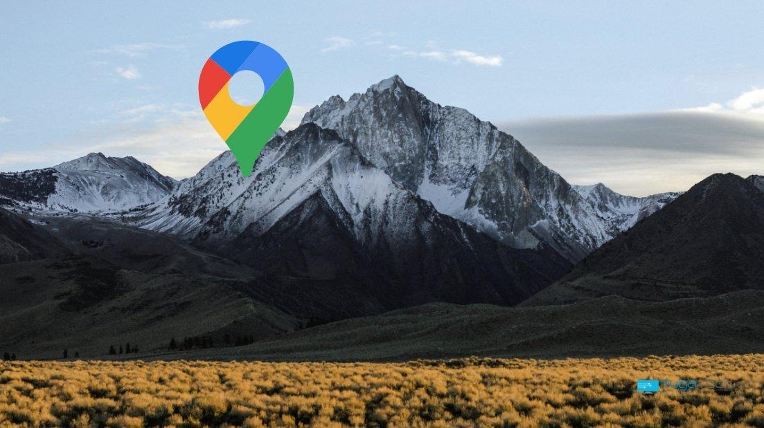 Google Maps em montanha