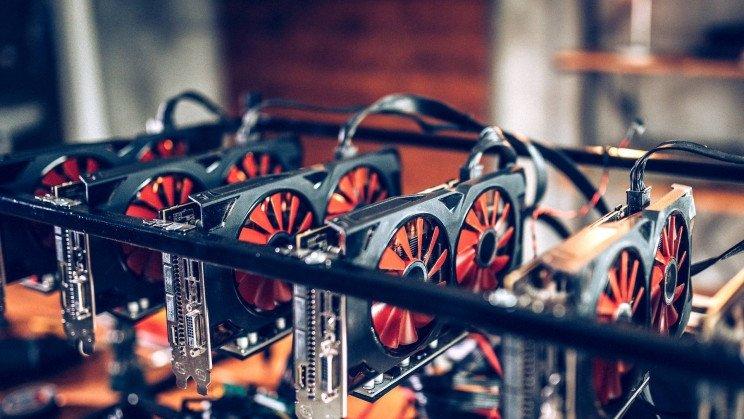Rig de mining criptomoedas