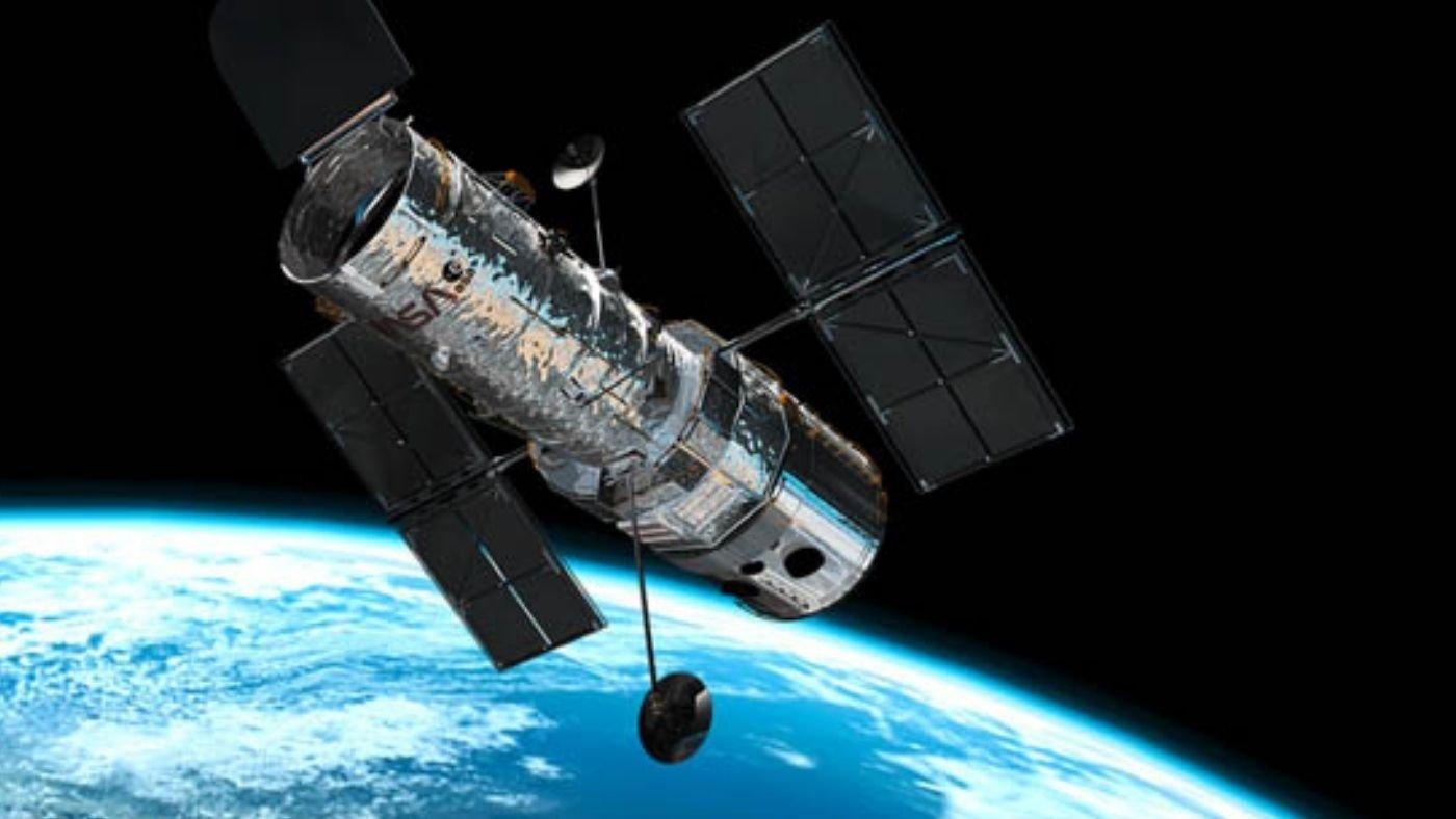 Hubble sobre a terra