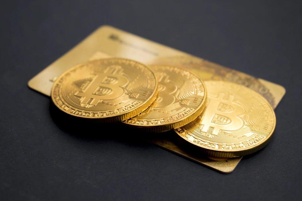 Bitcoin sobre cartão