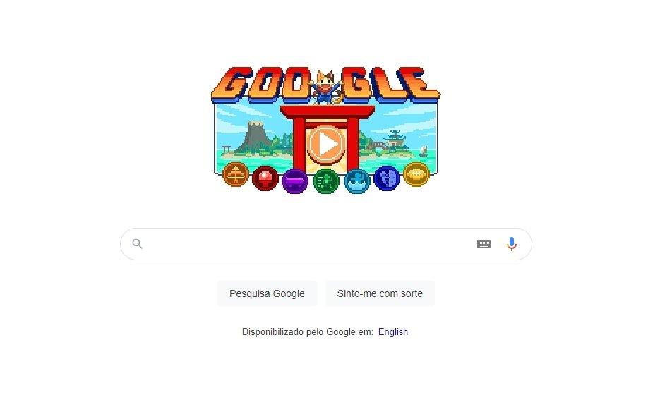 Google doodle jogos olímpicos toquio
