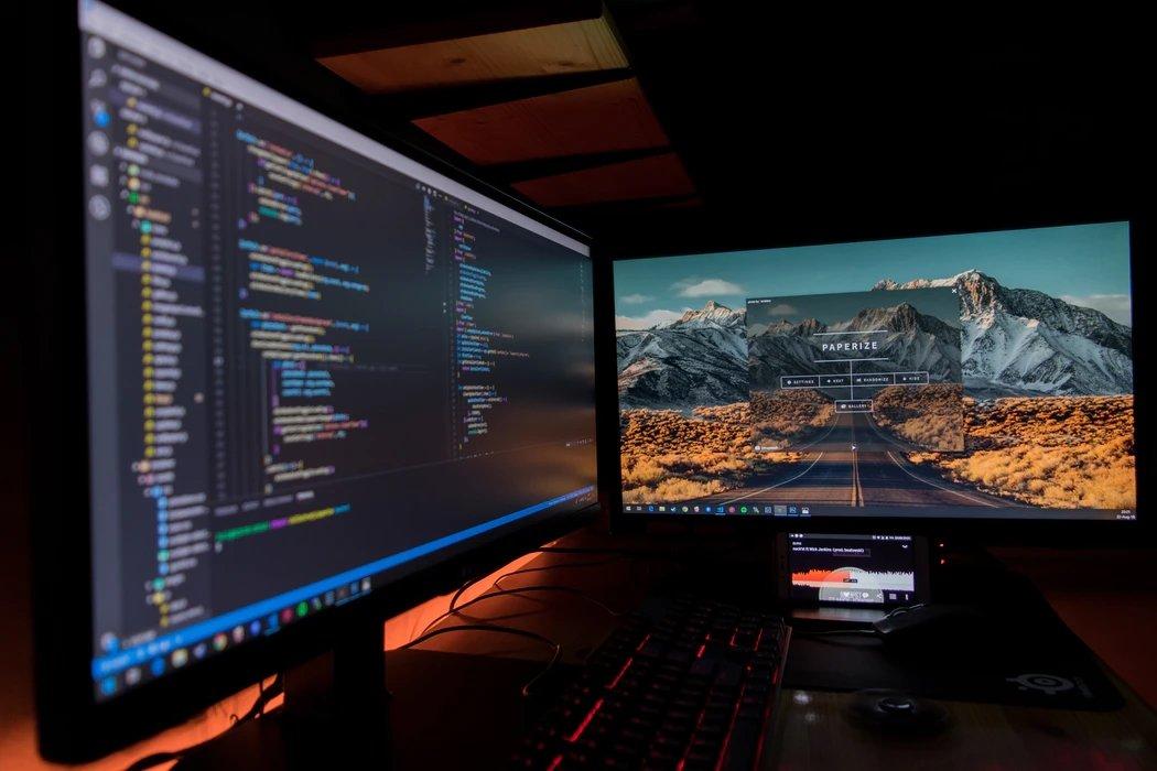 Codigo de programação em computador