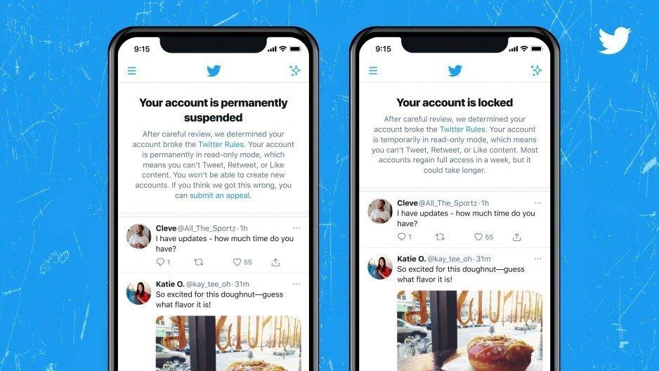 Twitter novos alertas