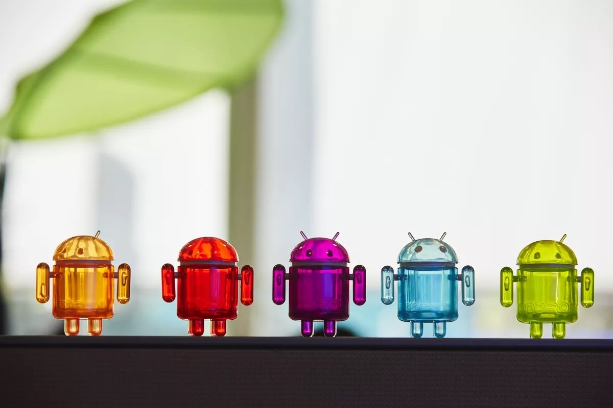 Bonecos do android