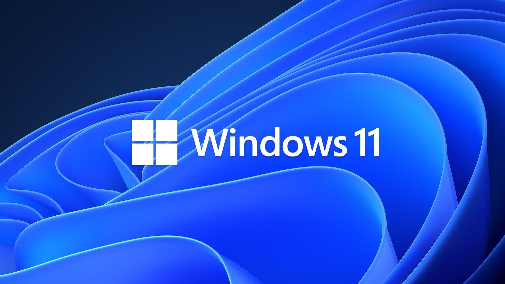 Windows 11 logo wallpaper
