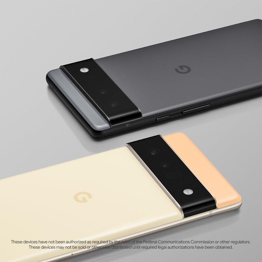novo design google pixel 6