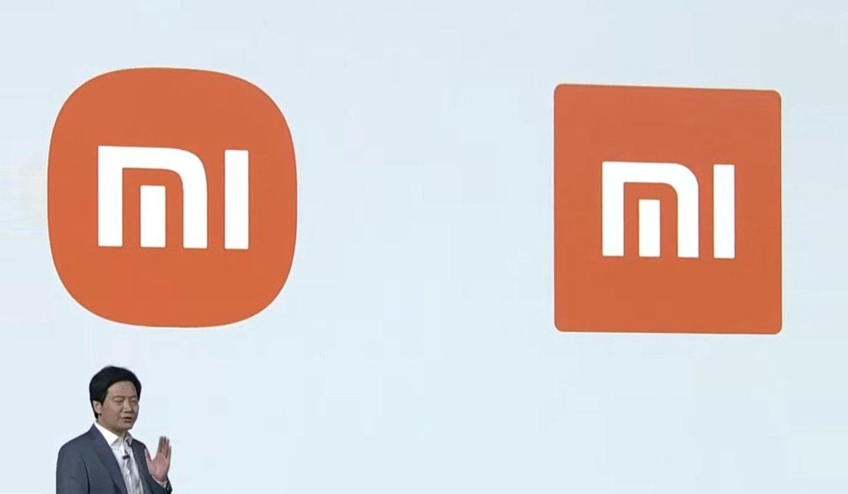 Xiaomi logo da empresa em painel