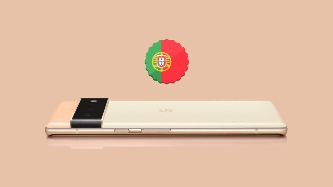 Google Pixel 6 Portugal