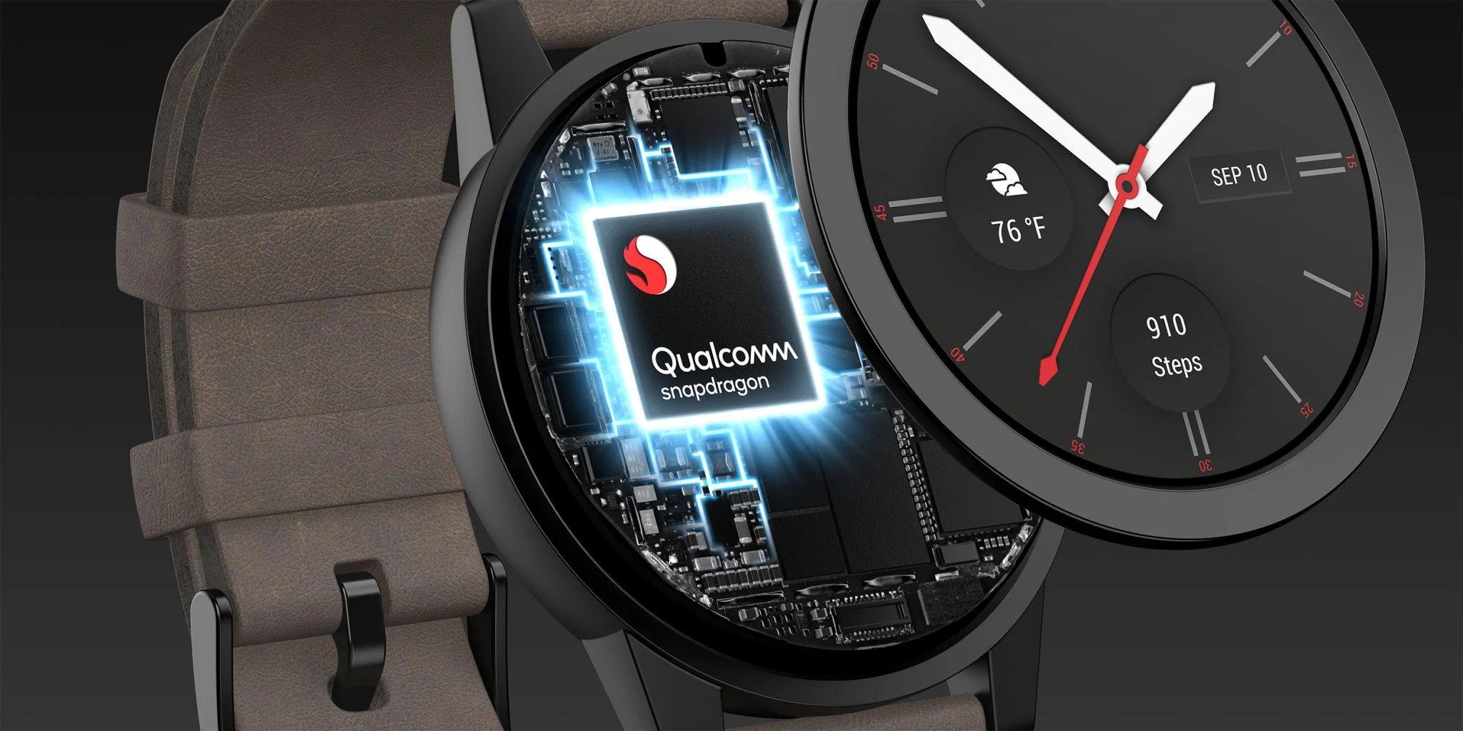 Qualcomm novo chip em smartwatch