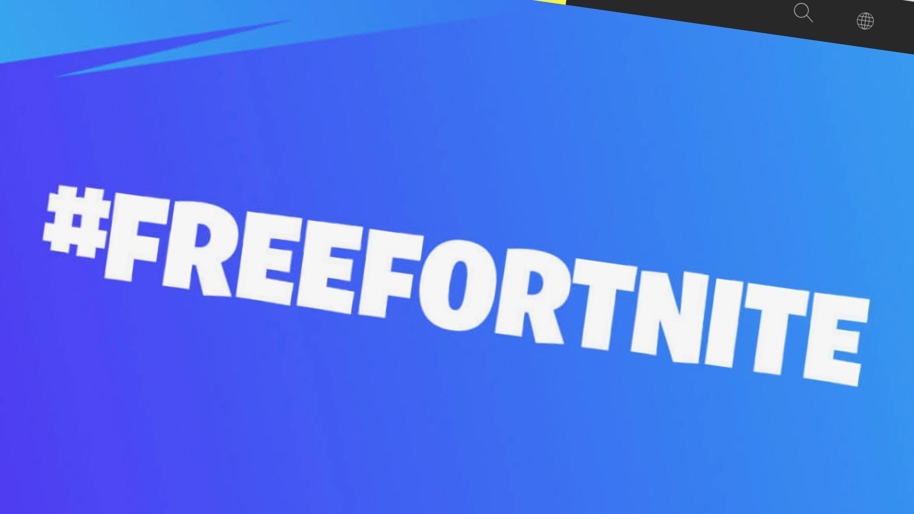 Epic Games Free Fortnite