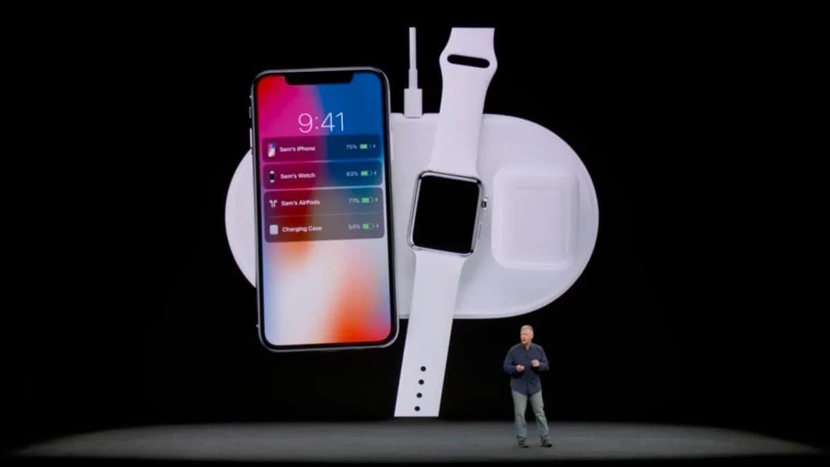AirPower da apple durante a revelação