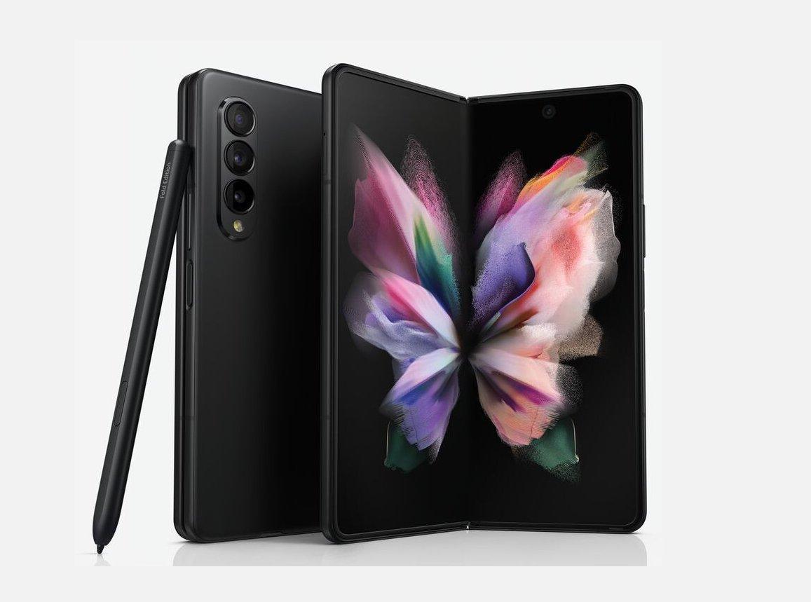 Samsung Galaxy Fold 3 em imagens