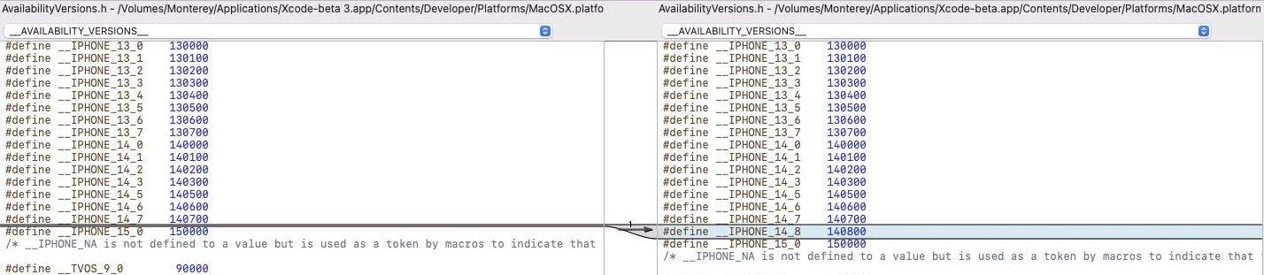 appole xcode ios 14.8