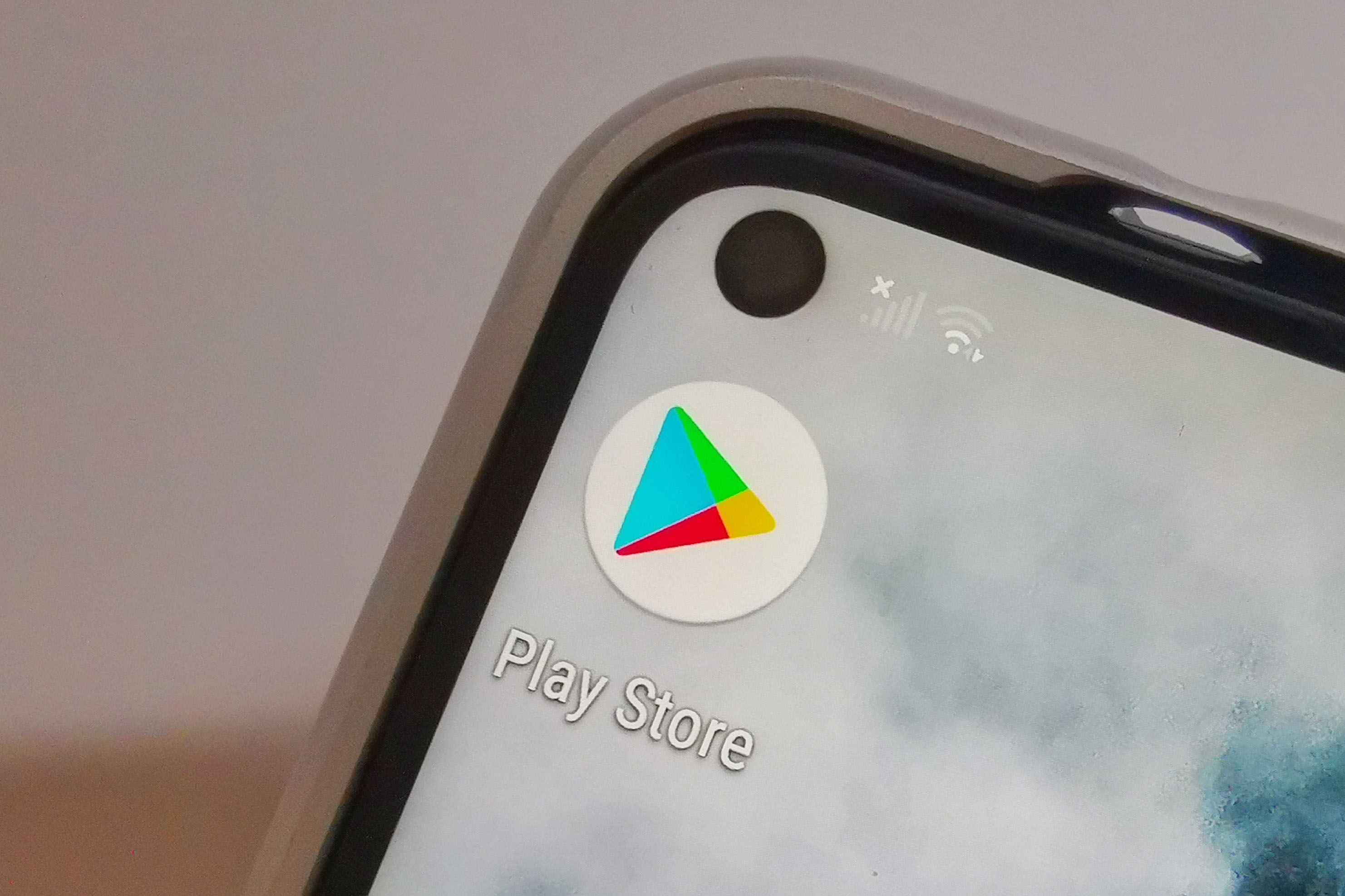 Google Play Store no Android